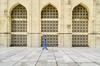 A devoted muslim is going for prayer! (ashik mahmud 1847) Tags: bangladesh d5100 nikkor people muslim man pattern texture line