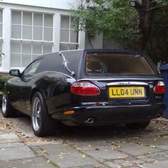 ♣ (uk_senator) Tags: harold maud tribute 2004 jaguar xk8 xkr xk black haroldandmaud
