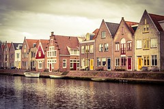 """Colorful doors of the canal (sdphotography42 (M. Sean Dingle)) Tags: holland dutch amsterdam netherlands nederland edam """"nikonflickraward"""""""