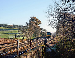 North Downs Line, 29/11/2016 (Yeovil Town) Tags: northdownsline class166 albury gomshall chilworth
