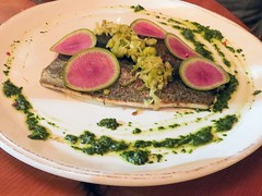 rainbow trout (Riex) Tags: thekitchenbistro rainbowtrout truite trout poisson fish plat plate dish meal dinner food nourriture fortcollins colorado g9x