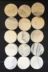 Hand made backgammon counters (allanpar) Tags: gamepieces counters stones backgammon