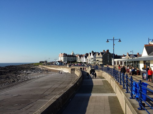 Porthcawl promenade.