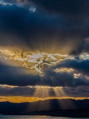 Sun rays & Clouds (Rhodes - Greece) (Olympus OMD EM5 & Panasoic Lumix G 35-100mm f2.8 Zoom) (1 of 1) (markdbaynham) Tags: rhodes rhodos pefkos greece greek grecia greka island olympus omd em5 csc evil mirrorless mft m43 m43rd micro43 panasonic lumix g 35100mm f28 zoom
