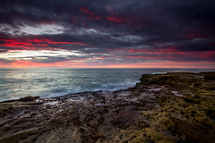 Sunset Cliffs (Andrew Scott Bauer) Tags: beach sunset photography seascape lanscape color clouds canon wideangle filter sand california coast