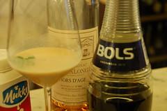 alexander brandy luca picchi (burde73) Tags: cocktaildinner lucapicchi burde miscelato ricetta recipe armagnac cassis champagne gin panarea sagna mixology