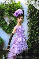 Fleur du Lavande (Doll Fashionista) Tags: dollfashionista fashionroyalty lavender royalgarden supermodelconvention nuface lilith editorialedge