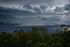 A beautiful beast (noompty) Tags: storm clouds cloudscapes mtcoottha brisbane queensland on1pics k1 pentax hddfa2470mmf28edsdmwr
