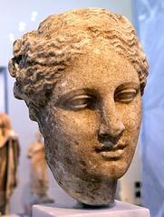 Female head (Hygeia?) // unknown artist (Scopas?), Ancient Greece (mike catalonian) Tags: sculpture ancientgreece higeia head female