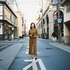 Osaka !! (Eason Q) Tags: glico signboard neon osaka japan shinsaibashi               hasselblad500cm