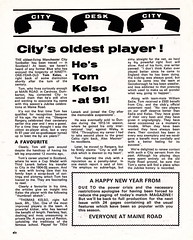 Manchester City vs Stoke City - 1974 - Page 6 (The Sky Strikers) Tags: manchester city stoke maine road 50 years football league first division match magazine 10p