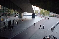 Rotterdam centraal (Jorkew) Tags: kodak portra 160 canon ae1 program lens fd 50mm f14 rotterdam centraal centraalstation centralstation station train street city urban people candid kodakportra portra160 canonae1program