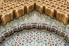 Mausoleum Decoration (Sue_Hutton) Tags: maroc morocco november2016 rabat autumn northernmorocco ornamentaldecoration stonework zellij