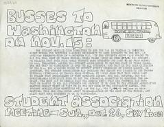 Busses To Washington, 10-23-1969 (Regional History Center & NIU Archives) Tags: boycott demonstration protest niu northernillinoisuniversity students activism