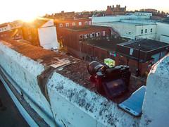 Sunset Searching (seanwhitphoto) Tags: sunset searching sony a7 cheltenham carpark helios 135mm sjcam m10 plus