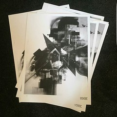 """I've just released a new print with @kinartgallery """"Sentinel 1"""" edition of 25 giclee print on 300gsm archival stock. Link in bio.  #deconstruction #stendec #kinart  #wizardkings #abstractart #geometry #giclee #printmaking (s-t-e-n-d-e-c) Tags: stendec wwwstendeccom art illustration ive just released new print with kinartgallery sentinel1 edition 25 giclee 300gsm archival stock link bio deconstruction kinart wizardkings abstractart geometry printmaking"""