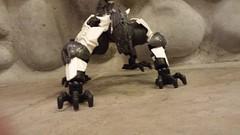 Malice. (TTV 12 Days of Christmas Day 5) (RaptorTalon) Tags: white gunmetal malice hero factory bionicle christmas