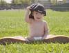 Samuel1 (Myriam Dunn Photographie) Tags: boy portrait baby smile grass kid nikon boots cap casquette enfant sourire bébé hurley bottes garçon d3000