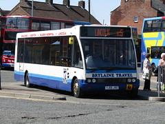 YJ05 JXG (markkirk85) Tags: new travel bus buses boston solo 32005 optare m950 jxg yj05 brylaine yj05jxg
