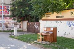 (southliving) Tags: czech piano brno mendlovonamesti