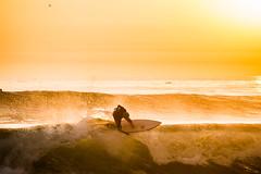 Float the boat (maxroseman) Tags: light sunset beach sport nikon san surf bright action surfer wave diego surfing sd surfboard encinitas floater