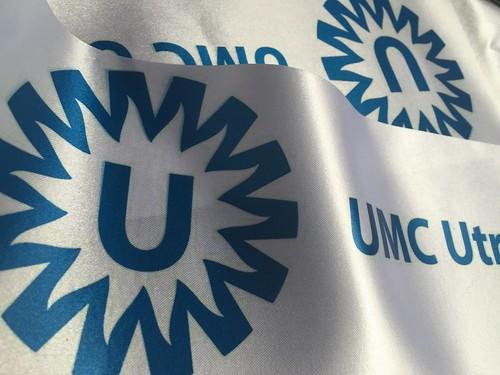 Bedrukt lint 100mm Full-Color UMC Utrecht