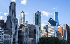 Millennium Park 9 (Trent D.) Tags: park bridge cloud chicago monument architecture canon gate downtown jay maggie bean millennium pavilion bp tamron daley nichols t3i pritzker 2875 bridgeway