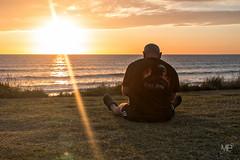 sunset demon LM+35_P0450 (mich53 - Thanks for 3000000 Views!) Tags: sunset sky mer sunlight man france landscape vacances flame fir normandie paysage flamme seated mansitting contrejour speeddemon seul 2015 cotentin solitute summiluxm35mmf14asph tlmtre leicamtype240