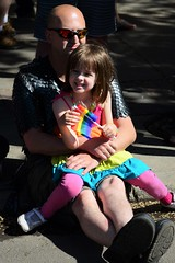 Rose and Her Daddy at Pride Parade 2015 (Vegan Butterfly) Tags: family gay people love proud lesbian daddy justice kid dad edmonton child respect father daughter protest marriage pride parade transgender identity event human together rights alberta lgbt violence bisexual wins sexual queer relationships orientation injustice gender sexuality abuse discrimination homophobia bisexuality prejudice homosexuality transphobia biphobia