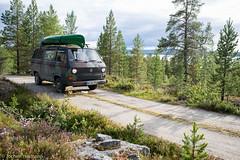 Femunden und Jmtland-522 (jo.hermann) Tags: nature norway landscape norge scenery schweden norwegen canoe camouflage mohawk sverige t3 kanu vwbus gatz paddeln femunden femund feragen