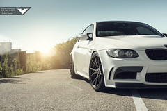 Vorsteiner Flow Forged V-FF 103 for BMW E92 M3 (Vorsteiner) Tags: bmw m3 e92 vorsteiner cars german vff 103 flow forged wheels mystic black performance alpine white carbon fiber boot lid rear diffuser gtsv gts7