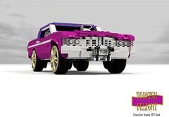 Turkish Delight - Chevrolet 1971 Impala Hardtop Donk (lego911) Tags: auto usa classic chevrolet hardtop car america 1971 model lego render culture chevy delight 1970s custom impala 90 coupe challenge v8 turkish cad lugnuts 96 povray badonkadonk chev donk moc ldd foolsrushin miniland lego911 happycrazyeigthbirthdaylugnuts