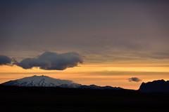 VESTURLAND - Snæfellsjökull from Hömluholt holiday home (Andrea Zille) Tags: iceland islanda republicoficeland lýðveldiðísland islandazilleandrea