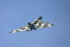 XH558 Avro Vulcan at Ayr (RobK5) Tags: airplane flying display aircraft historic vulcan ayr bomber avro xh558 scottishairshow
