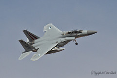 Israeli Air Force F-15D right break (JetImagesOnline) Tags: red fighter force exercise eagle flag air jet douglas usaf base baz israeli 154 afb mcdonnell f15 nellis iaf aricraft f15d