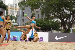 DSC03892 (rickytanghkg) Tags: beach hongkong championship women sony international match handball taipo a550 sonya550