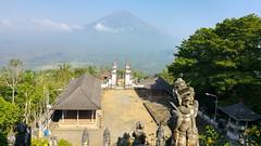 Vue depuis Pura Lempuyang