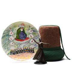 Sufi - Rumi - Turkish - Authentic Handmade Souvenir - Wall Art - Ceramic Plate (ANATOLIQUE) Tags: original art turkey painting ceramic photography souvenirs photo europe hand image handmade drawing craft plate wallart made souvenir spiritual ethnic sufi sufism turkish dervish authentic handcraft rumi whirling konya ceramicplate mevlevi whirlingdervishes mevlana wallplate sufis handmadeart tasawwuf handmadeitem jalaluddinrumi sufiwhirling handmadegifts mevleviorder handmadegift handmadesouvenir thewhirlingdervishes handmadeshop celaleddinrumi sufiorder sufisoul mevlanarumi mysticalislam authenticsouvenirs sufidervishes mawlawiyya turkishsouvenir sufismreligion sufiart turkishsouvenirs ethnicsouvenirs mevlevirumi rumipoet rumilove rumisufism sufiphilosophy turkishwhirlingdervishes whirlingdervishesturkey whirlingdervisheskonya sufiwhirlingdervishes sufisouvenir rumisouvenir souvenirideas originalsouvenirs authentichandmadeturkishsouvenirs
