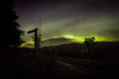 aurora, Crieff 07.10.15 (rob_dowse) Tags: nightphotography stars nightime northernlights auroraborealis starlight