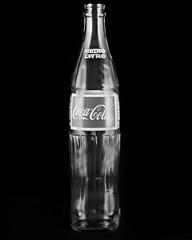 Coca Cola (estefanny.gastelum) Tags: cola coca ilford studiolighting 4x5camera shootfilm 4x5film bnwcaptures