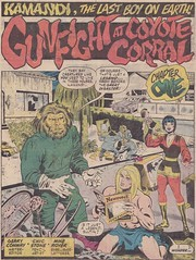 Kamandi 42 / Splash Panel (micky the pixel) Tags: comics dc comic heft kamandi kamandithelastboyonearth