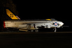 XR713 (gooey_lewy) Tags: english electric night one twilight shoot fighter force air group jet engine royal rr run 111 rolls f3 lightning airforce society quick avon ee royce alert raf treble preservation reaction interceptor squadron afterburner bruntingthorpe qra xr713