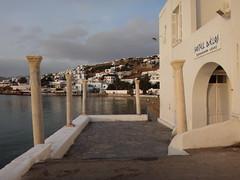 El puerto antiguo. Chora. Isla de Mikonos. Grecia (escandio) Tags: 3 grecia chora mikonos 2015 cicladas islademikonos
