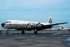 131601 Douglas C-118B Liftmaster US Navy (Keith B Pics) Tags: douglas usnavy usn rt dc6 everts liftmaster c118 r6d vr53 131601 aircargoexpress n651ce dallasnas n5307s cn43704