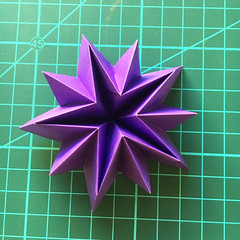Quite a different thing ;) (_Ekaterina) Tags: star origami violet paperfolding kami modularorigami unitorigami ekaterinalukasheva