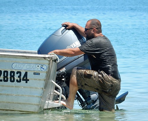 wet boat still brighton goggles climbing yamaha fixed dinghy tinny repaired outboardmotor