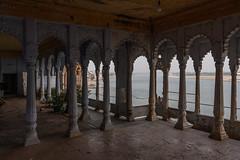 Bhonsale Palace, Varanasi (ghostwheel_in_shadow) Tags: india asia arch varanasi kashi banaras benares uttarpradesh banares architecturalelement architectureandstructures bhonsaleghat bhonsalepalace