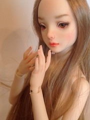 More snaps (aneemal) Tags: detail scale painting toy doll soft european natural handmade makeup figure bjd 16 resin collectible artdoll custom figurine arttoy blushing sculpt balljointeddoll marinabychkova enchanteddoll poseable faceup resined artistbjd