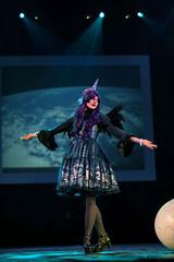 Princess Luna (Zilephiroth) Tags: carnival fashion pretty cosplay luna replica lolita angelic mlp alicorn