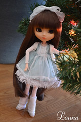 Millie (~Louna~) Tags: christmas noel wig pullip nina custom noël custo obitsu